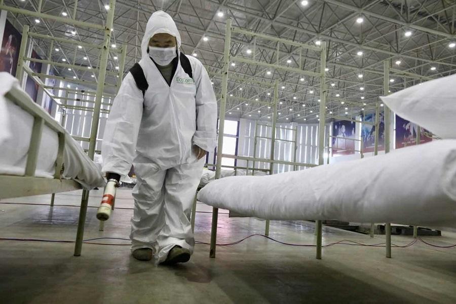 Trung Quốc biến nhà thi đấu, trung tâm hội nghị thành bệnh viện dã chiến - 17