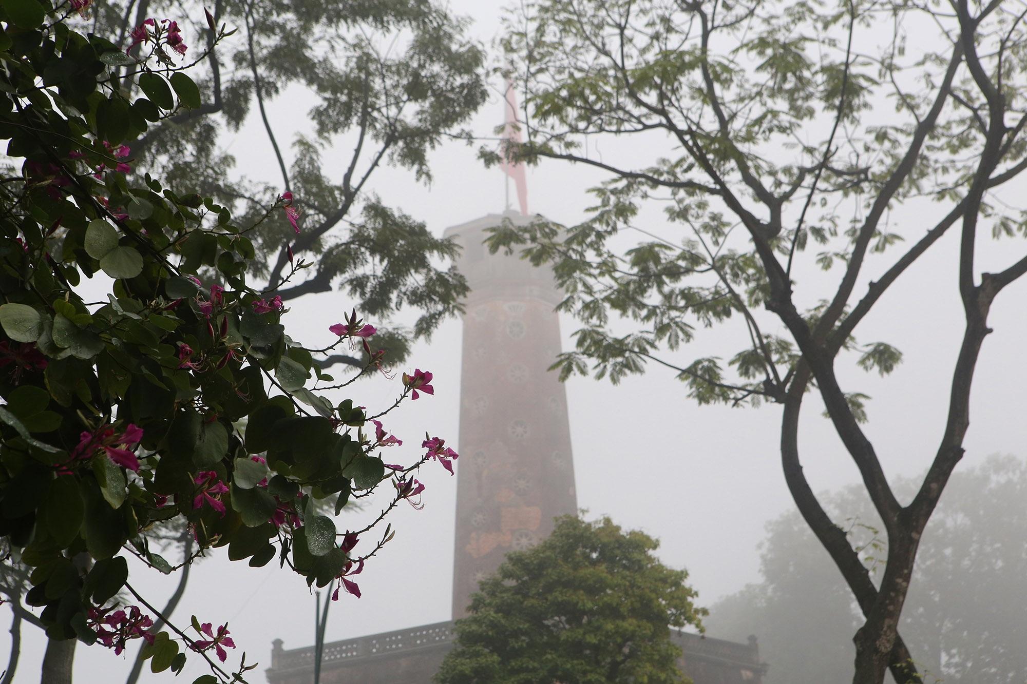 Hà Nội thơ mộng sau làn sương mù dày đặc - 14