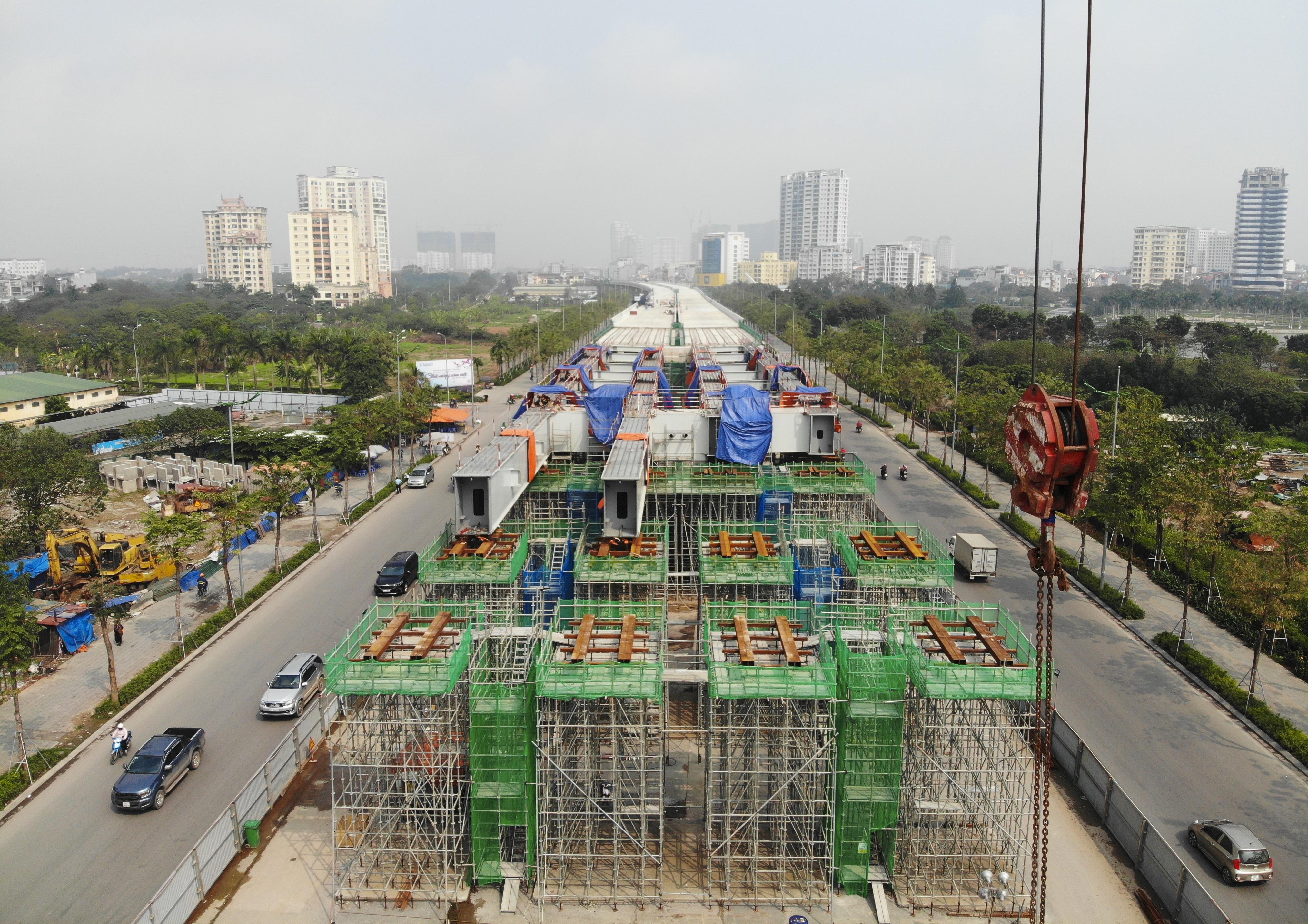 Hà Nội: Toàn cảnh đường vành đai 3 trên cao sau gần 2 năm thi công - 9
