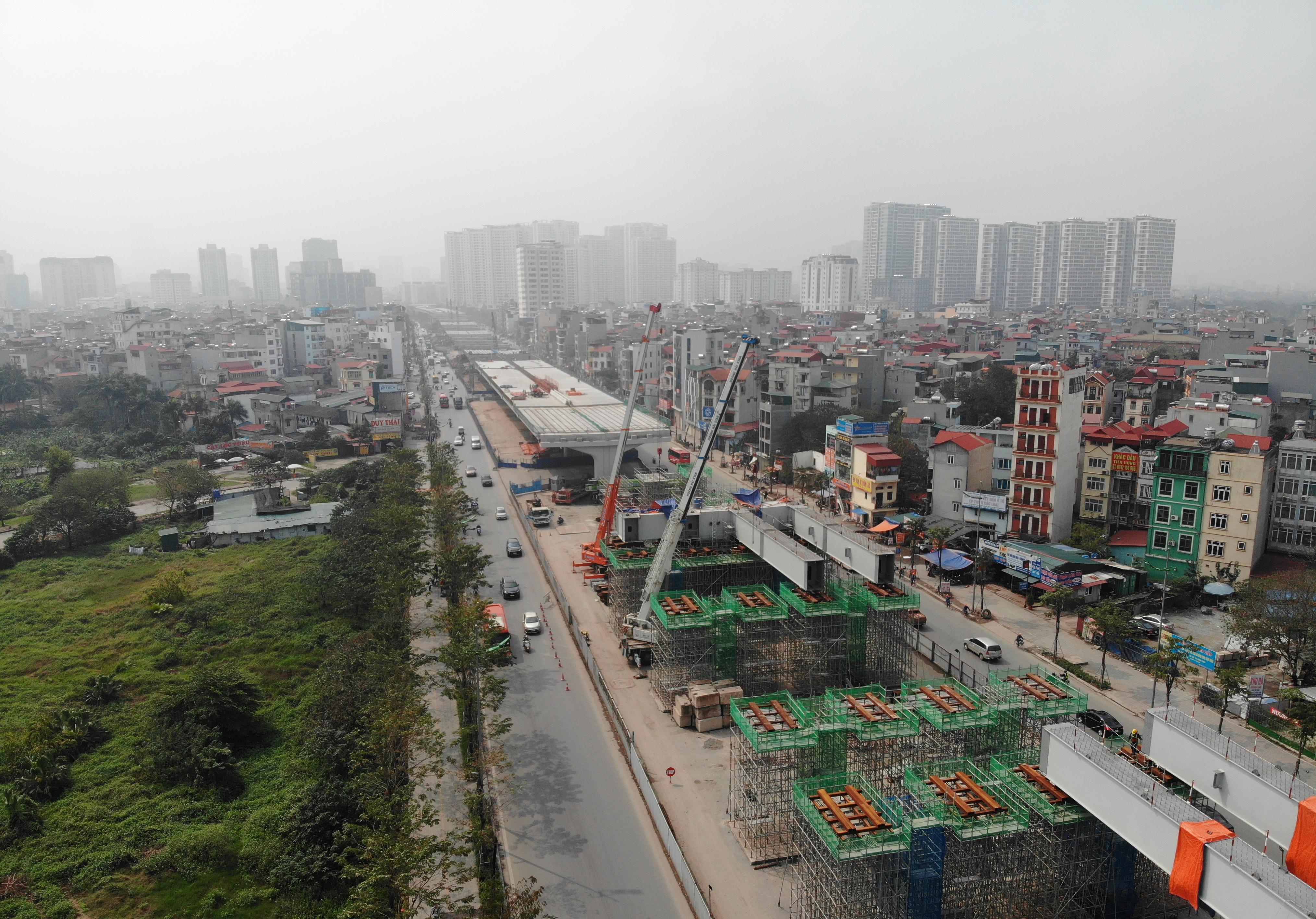 Hà Nội: Toàn cảnh đường vành đai 3 trên cao sau gần 2 năm thi công - 2