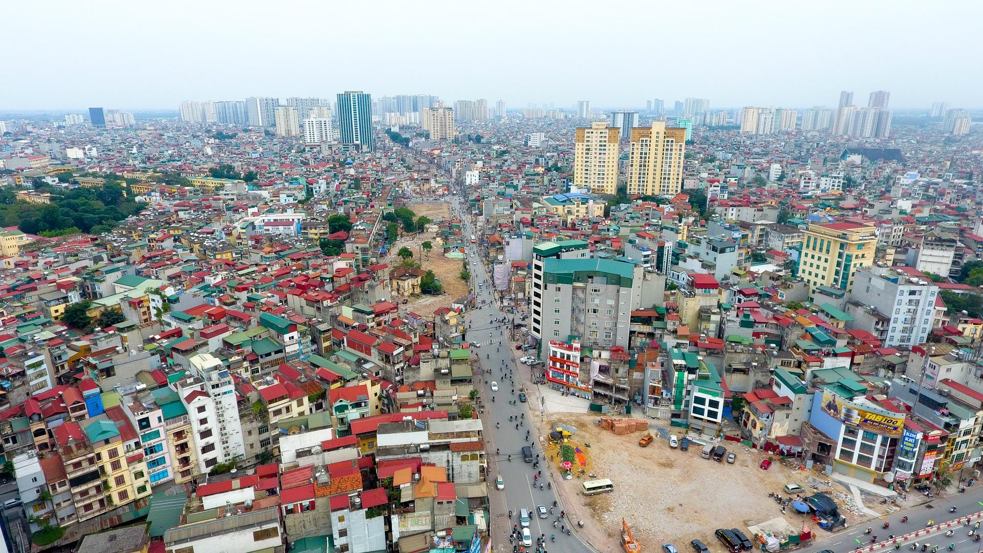 Đại công trường trên cao 9.400 tỷ xuyên đường cong mềm mại ở Hà Nội - 25