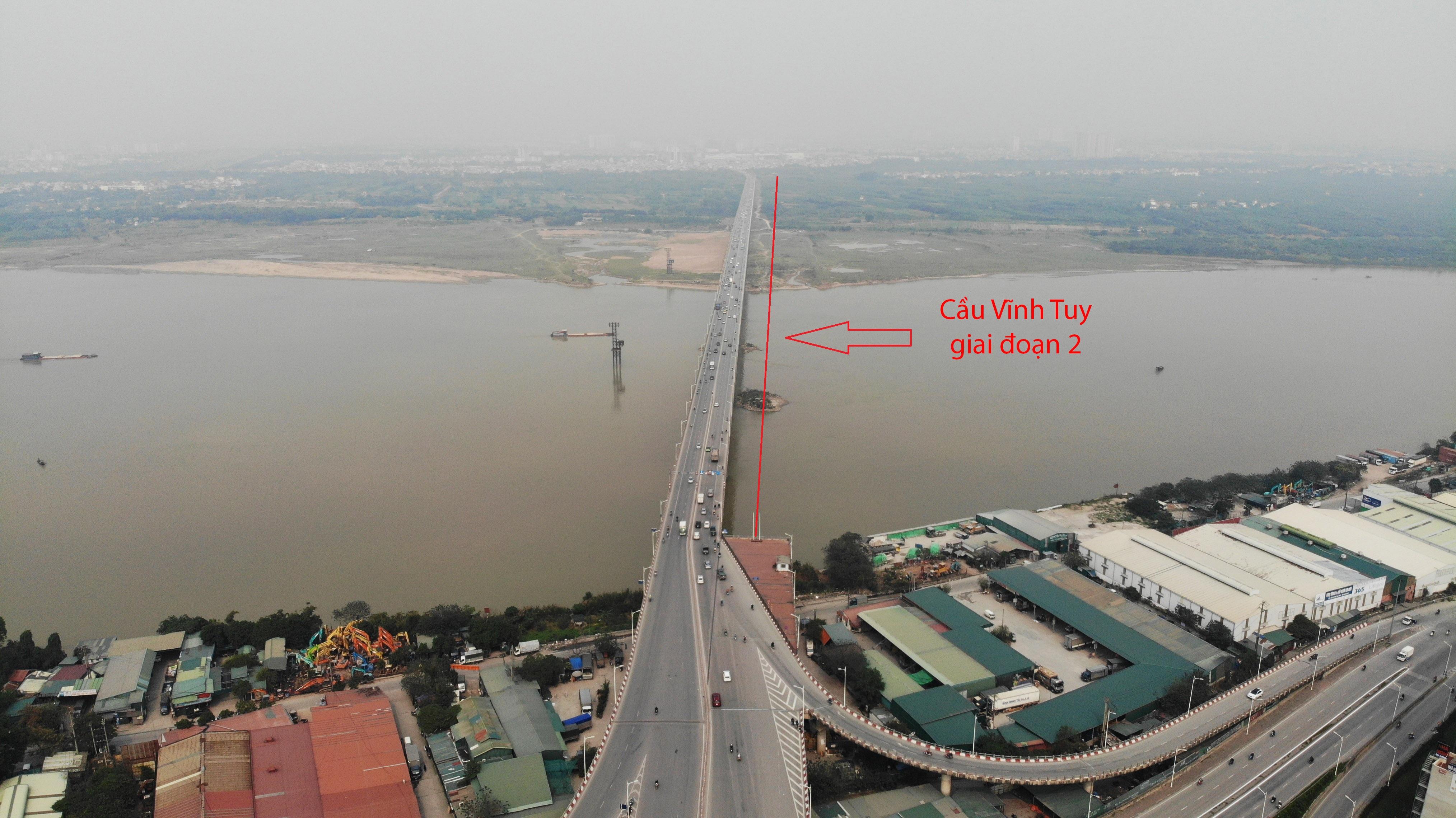 Toàn cảnh giao thông cầu Vĩnh Tuy trước khi xây cầu Vĩnh Tuy 2 - 1