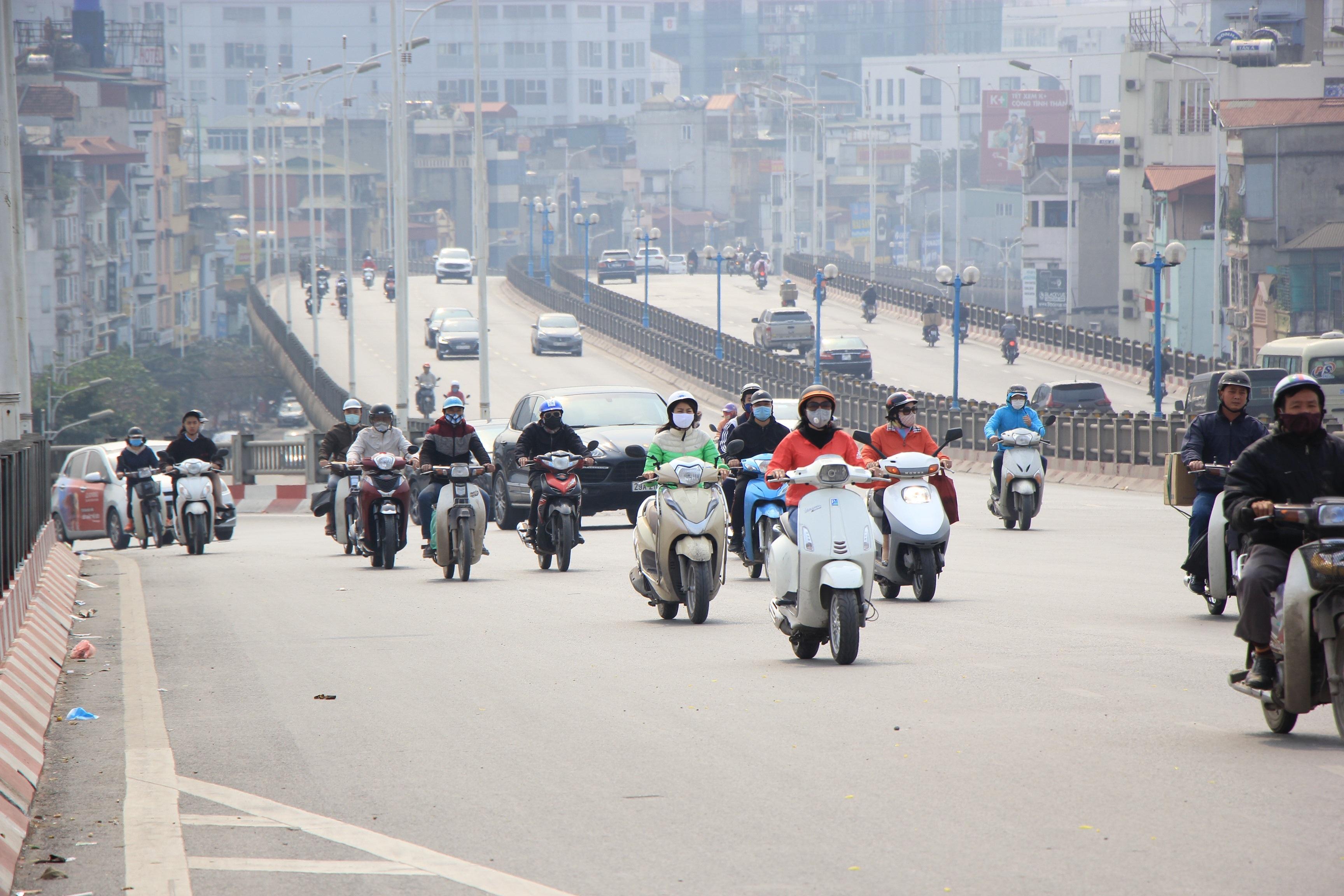 Toàn cảnh giao thông cầu Vĩnh Tuy trước khi xây cầu Vĩnh Tuy 2 - 10