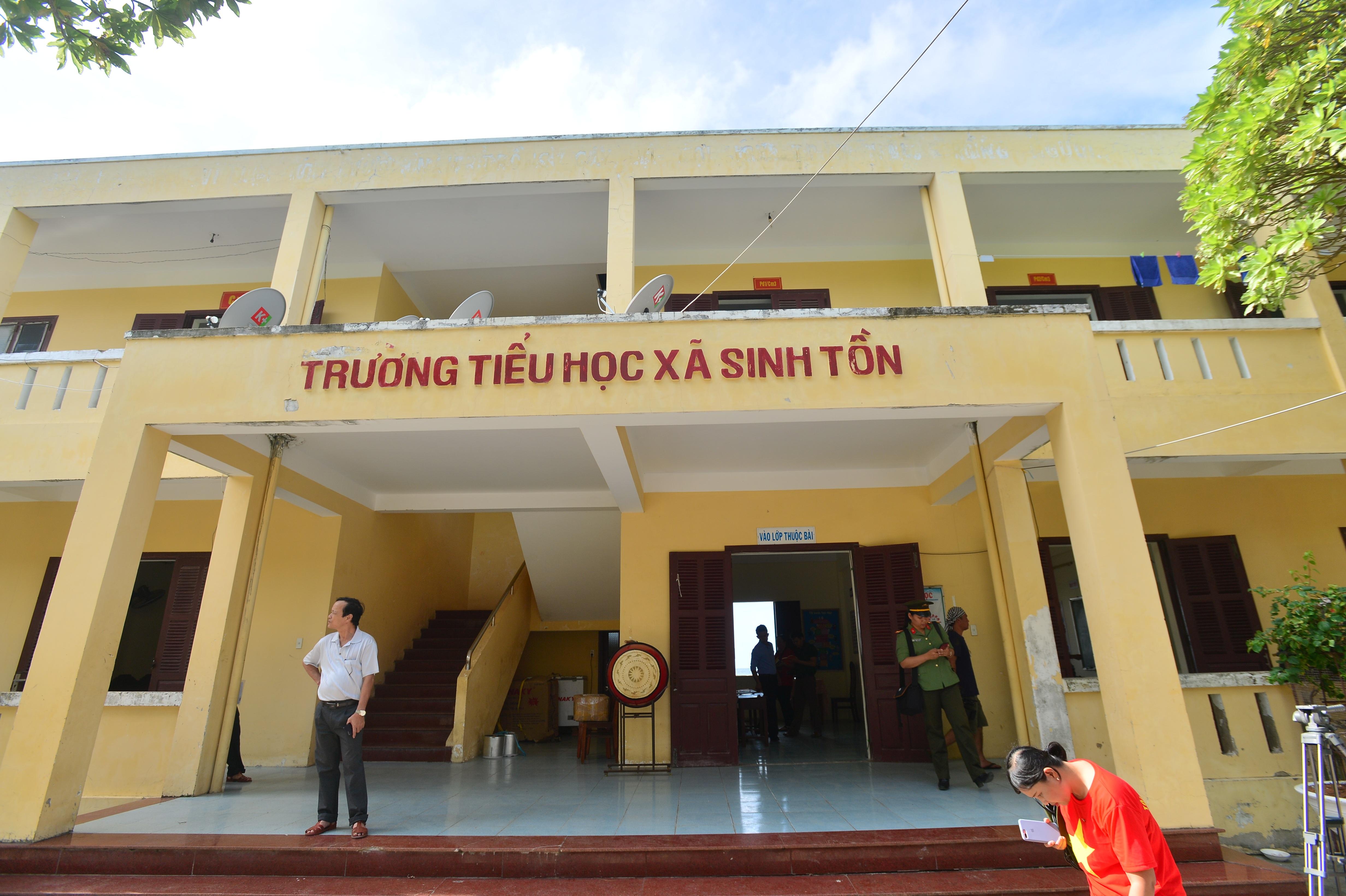 Ngôi trường tiểu học 5 trong 1 ở quần đảo Trường Sa - 1