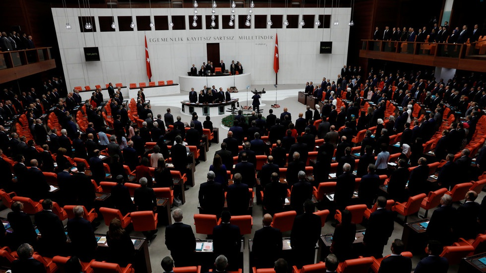 Quốc hội Thổ Nhĩ Kỳ (Ảnh: Reuters)