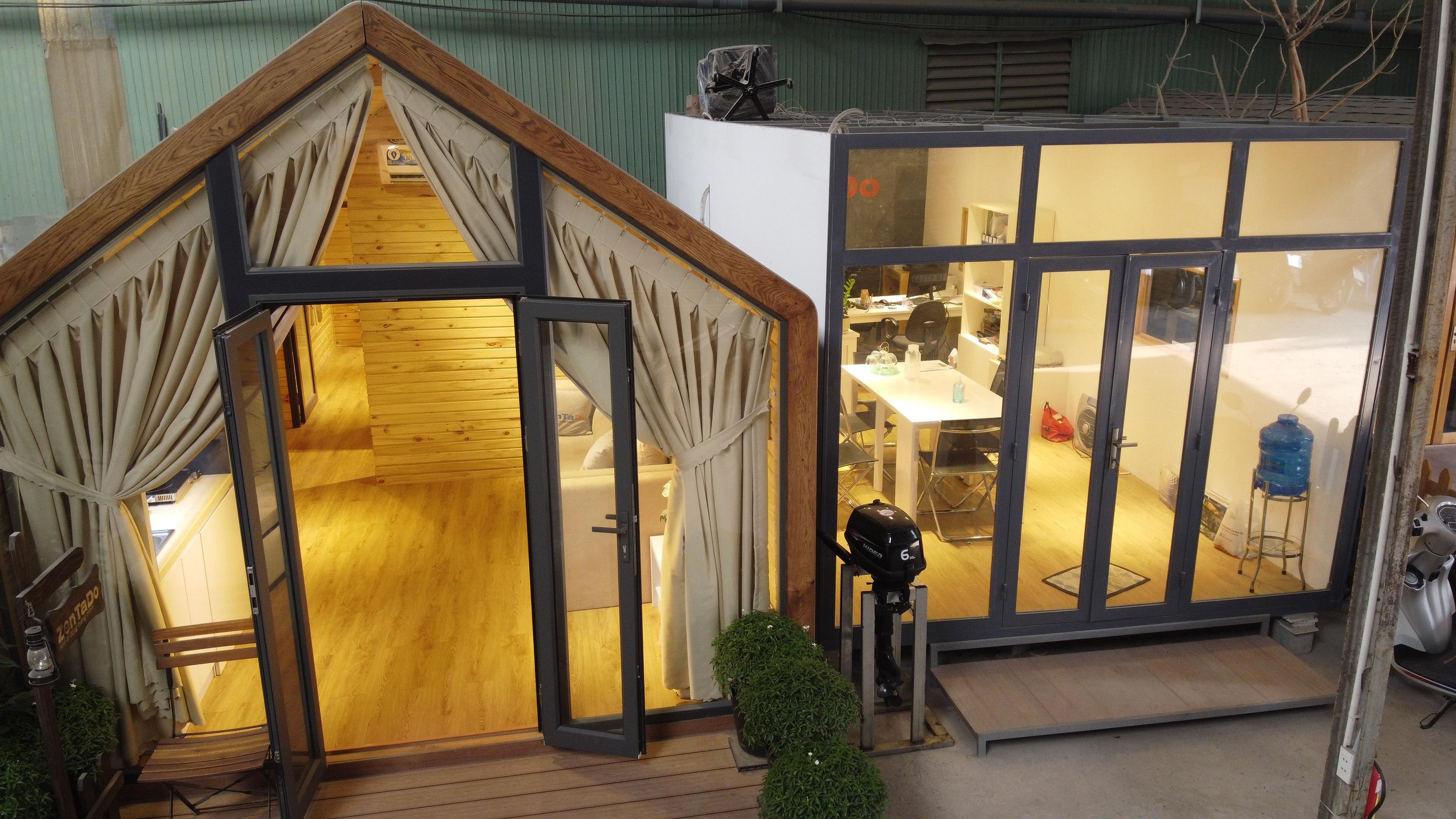 Độc lạ mô hình nhà di động thông minh, không gian xanh - 9