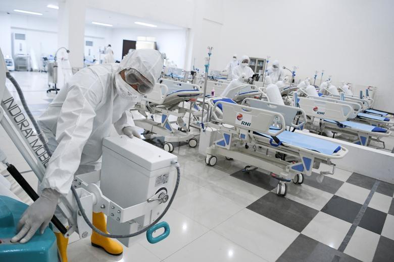 Các nước cấp tập lập bệnh viện dã chiến đối phó đại dịch Covid-19 - 19