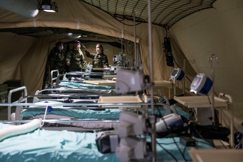 Các nước cấp tập lập bệnh viện dã chiến đối phó đại dịch Covid-19 - 11