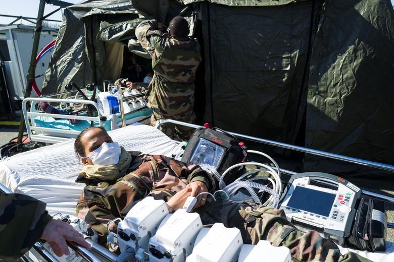 Các nước cấp tập lập bệnh viện dã chiến đối phó đại dịch Covid-19 - 10