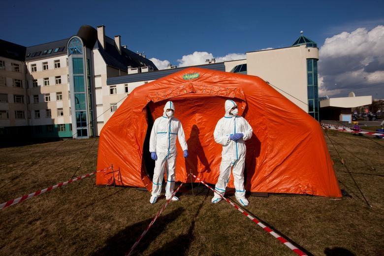 Các nước cấp tập lập bệnh viện dã chiến đối phó đại dịch Covid-19 - 12