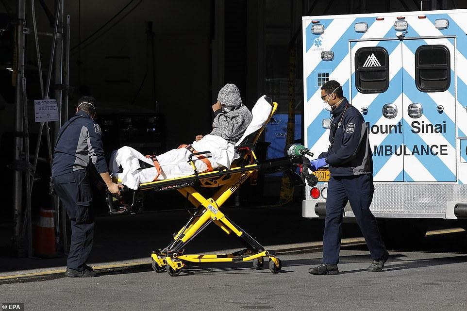 Bên trong tàu bệnh viện được điều tới ứng cứu New York - 4