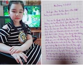 Tặng giấy khen bé lớp 2 viết thư gửi PTT Vũ Đức Đam về chống dịch Covid-19