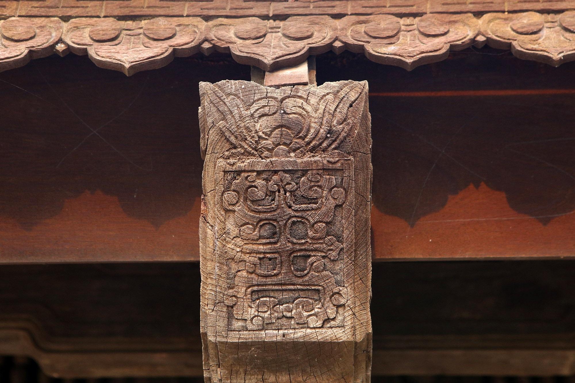 Không gian thanh tịnh tại ngôi chùa gỗ 600 năm tuổi - 5