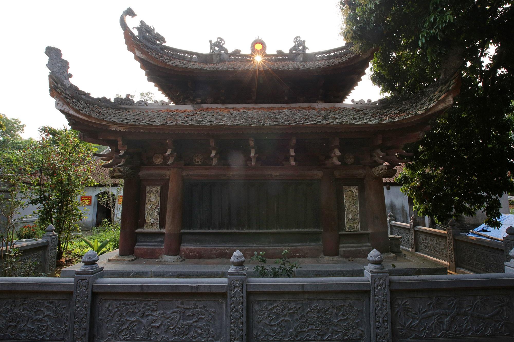 Không gian thanh tịnh tại ngôi chùa gỗ 600 năm tuổi - 10