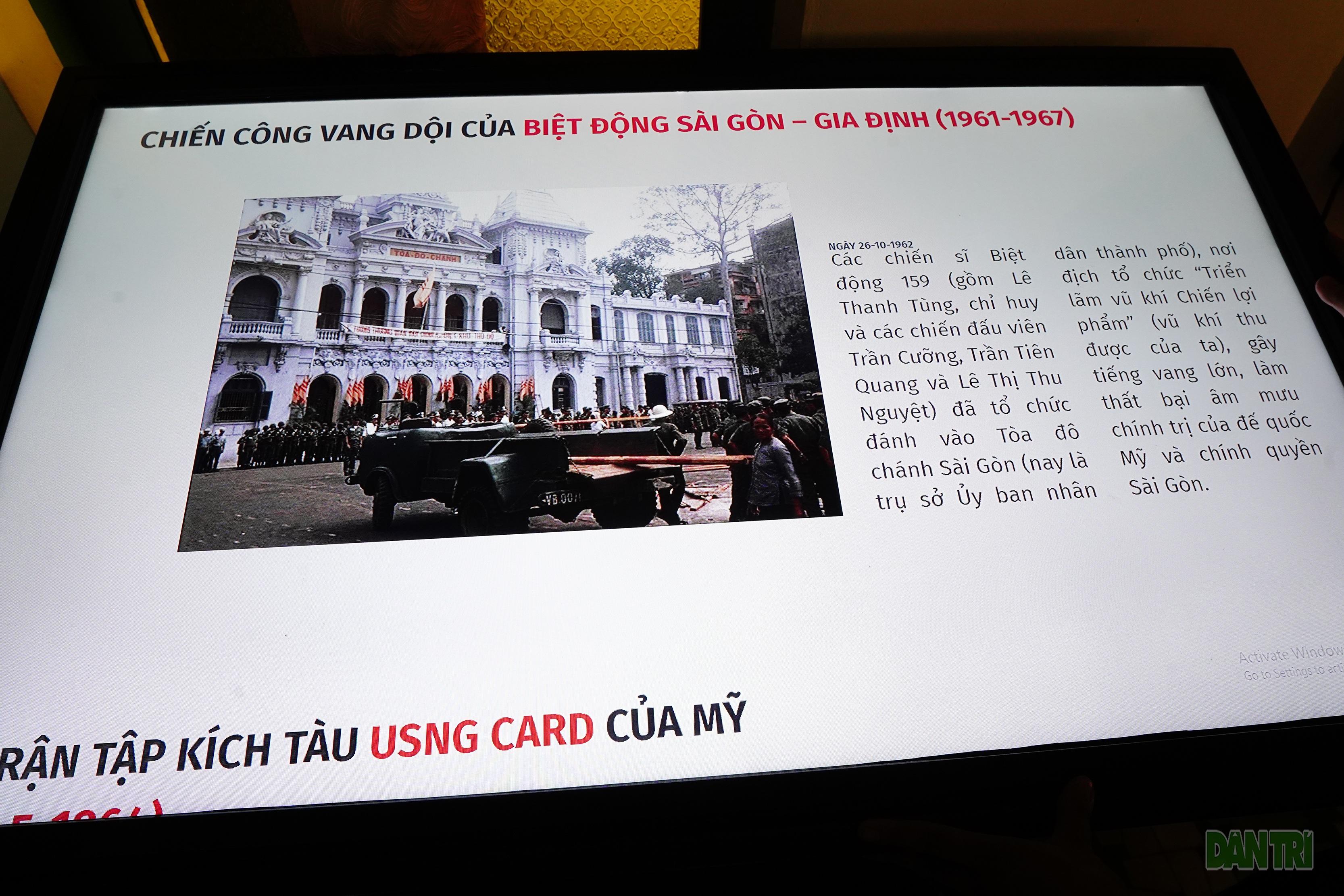 Ứng dụng công nghệ tái hiện những chiến tích của Biệt động Sài Gòn - 1