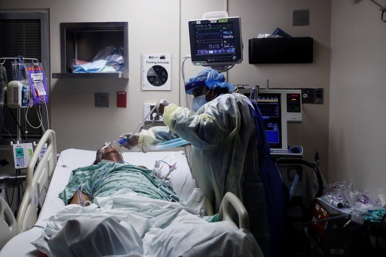 Cuộc chiến với tử thần trong phòng điều trị bệnh nhân Covid-19 tại Mỹ - 1
