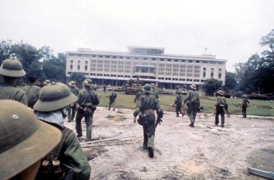Ký ức người lính ở đơn vị bộ binh đầu tiên tiến vào Dinh Độc Lập - 1