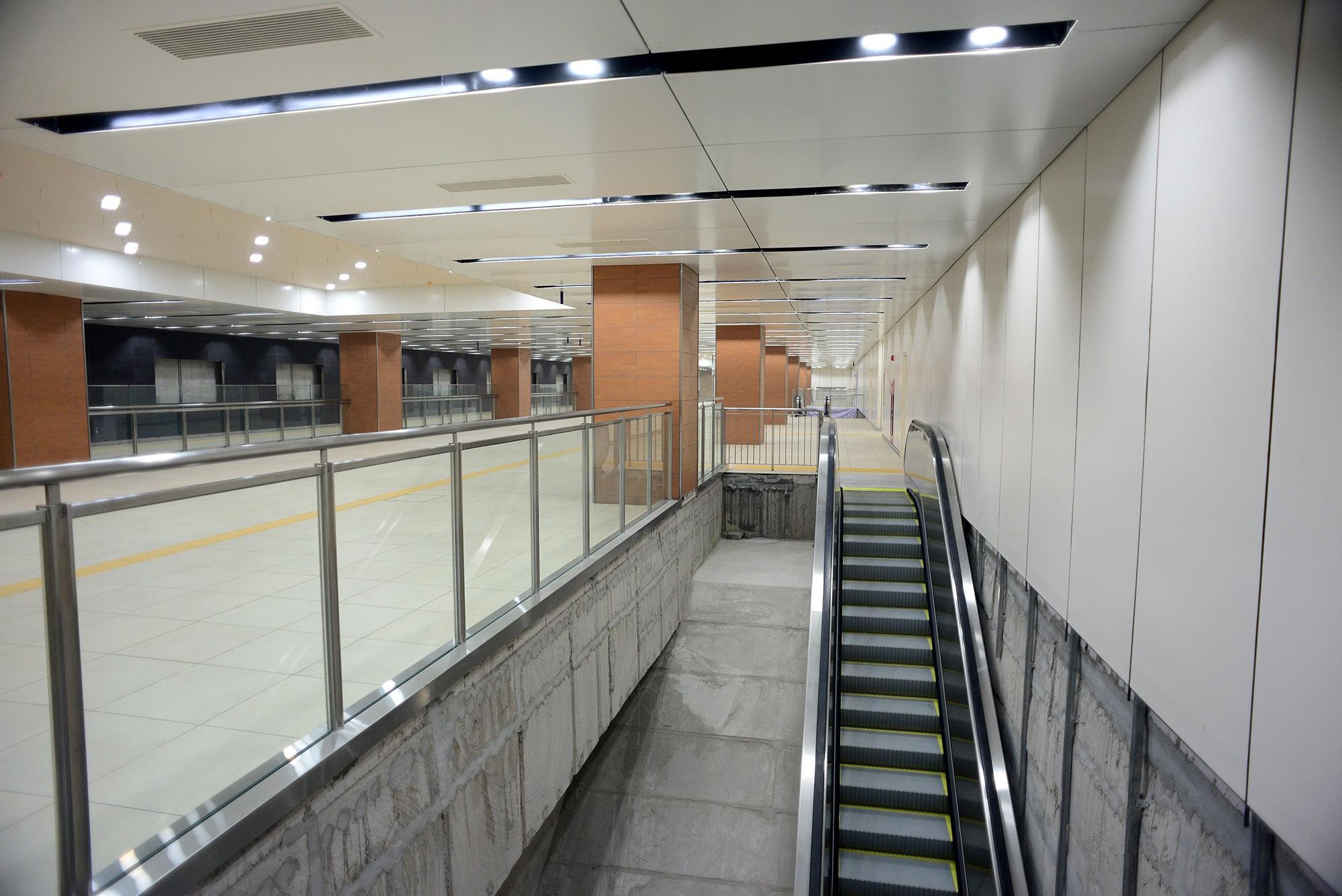 Ngắm toàn cảnh tuyến metro đầu tiên của TPHCM - 10