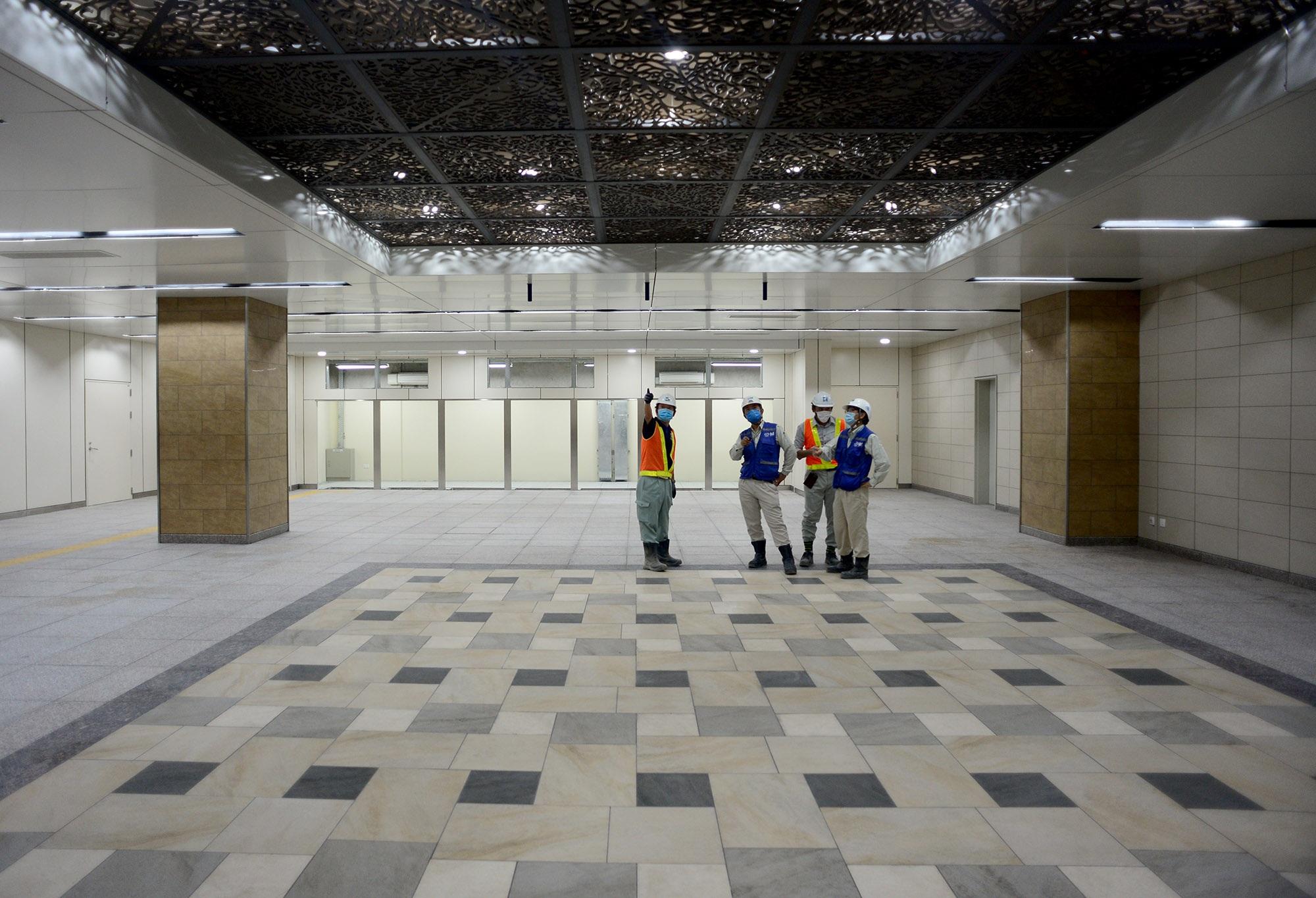 Ngắm toàn cảnh tuyến metro đầu tiên của TPHCM - 5