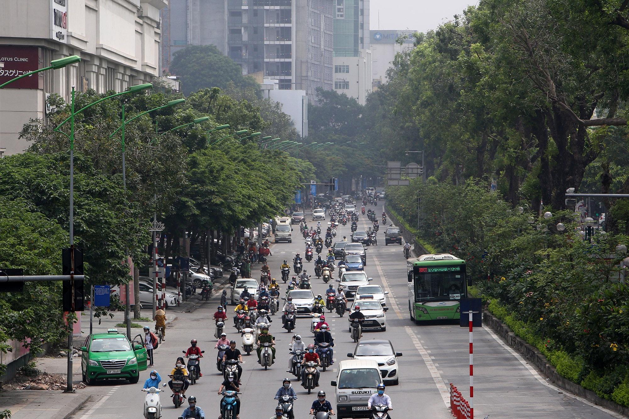 Những tuyến phố rợp bóng cây xanh làm đẹp Thủ đô - 10