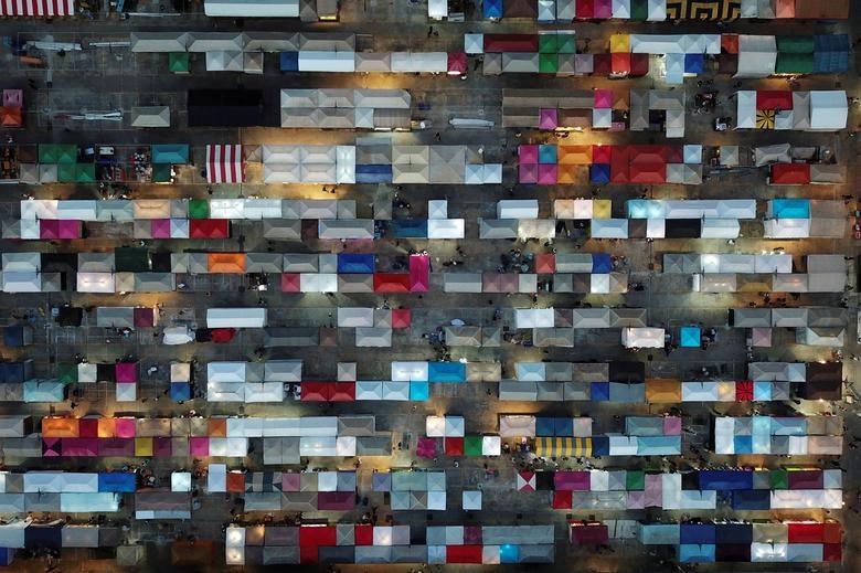 Những bức ảnh ngỡ ngàng về thế giới trong đại dịch Covid-19 từ trên cao - 5