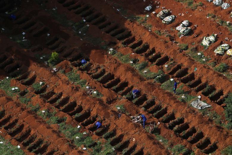 Những bức ảnh ngỡ ngàng về thế giới trong đại dịch Covid-19 từ trên cao - 9