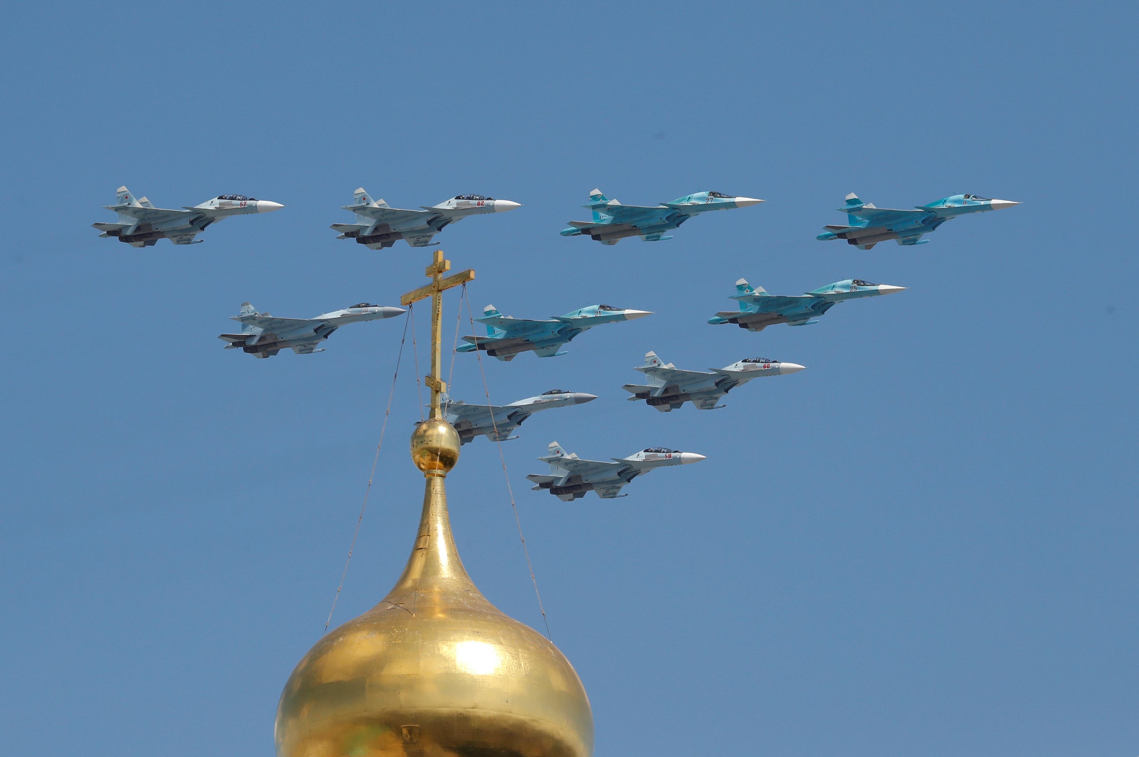Mãn nhãn dàn khí tài khủng của Nga trong lễ duyệt binh - 33