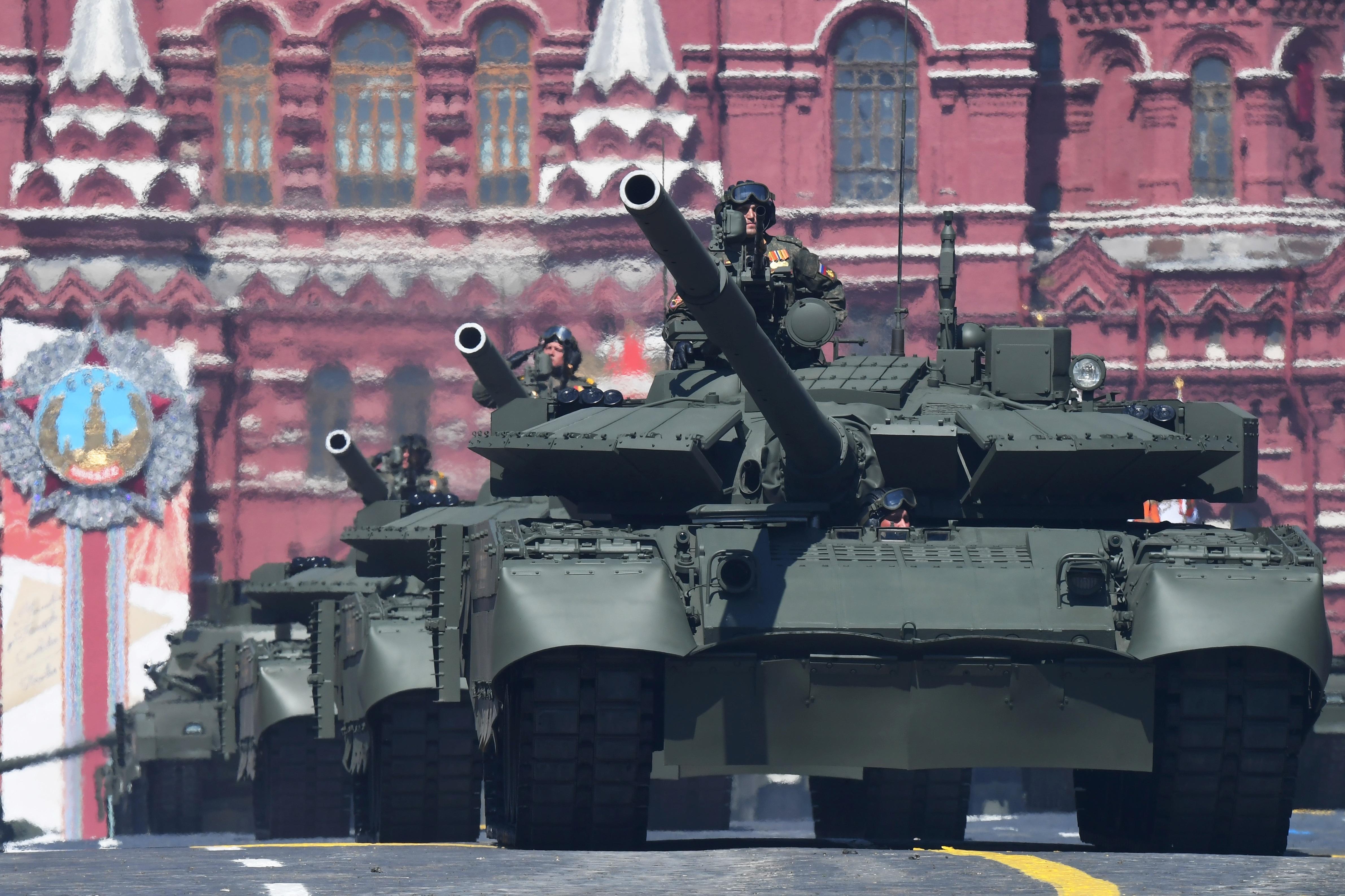 Mãn nhãn dàn khí tài khủng của Nga trong lễ duyệt binh - 27