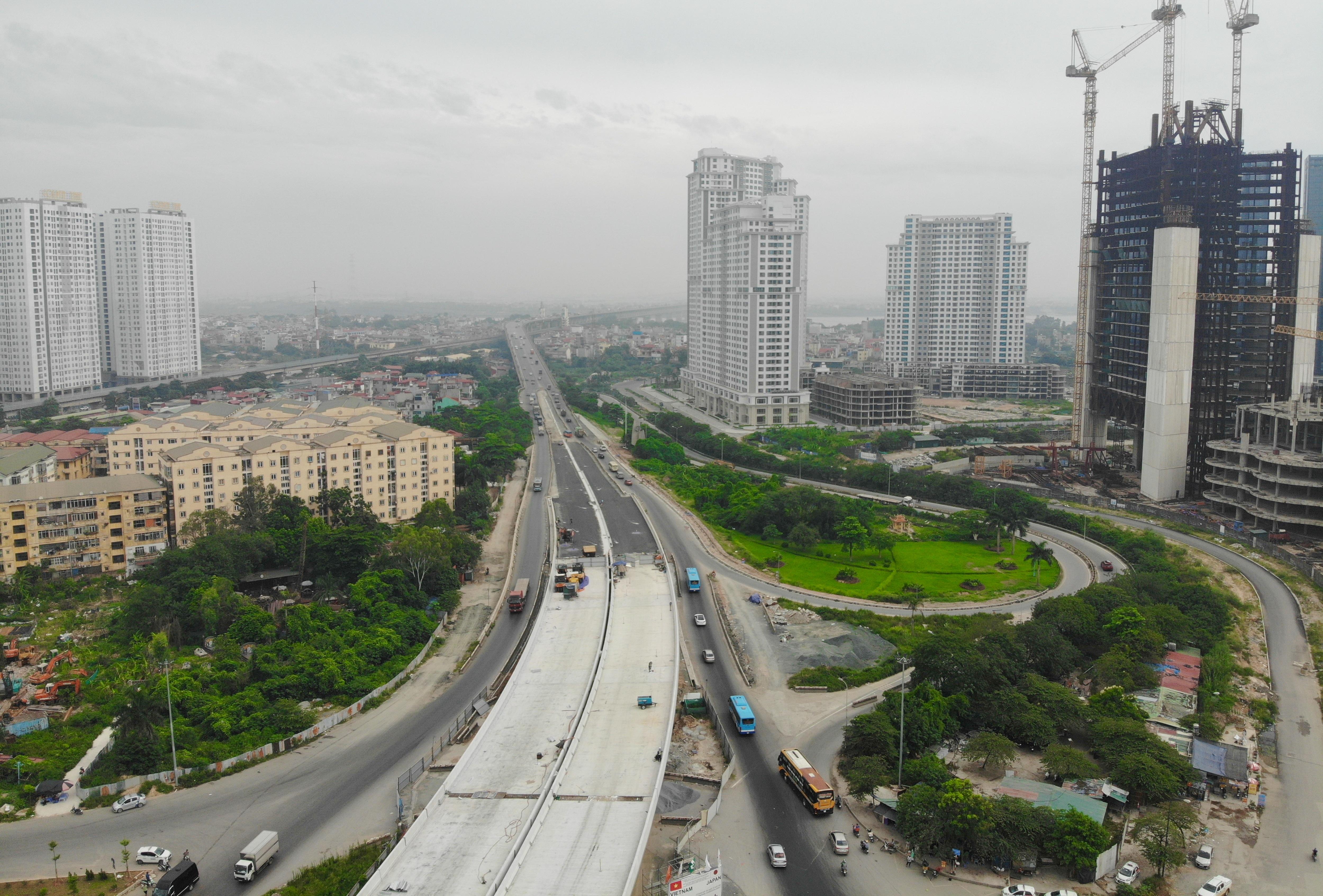 Hà Nội: Gấp rút thi công đường vành đai 3 trên cao trước ngày thông xe - 19