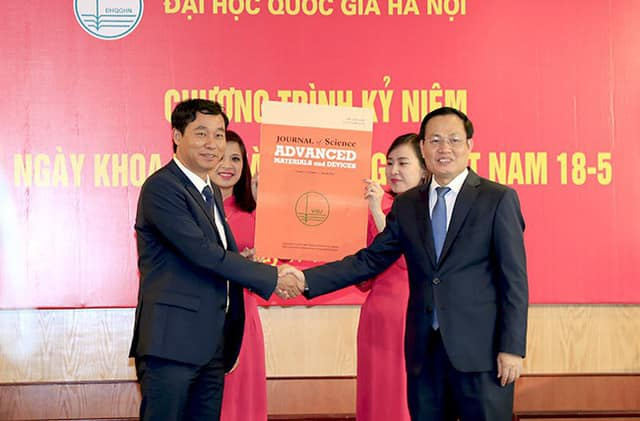 Tạp chí khoa học Việt Nam đầu tiên có chỉ số IF lọt top 25% thế giới