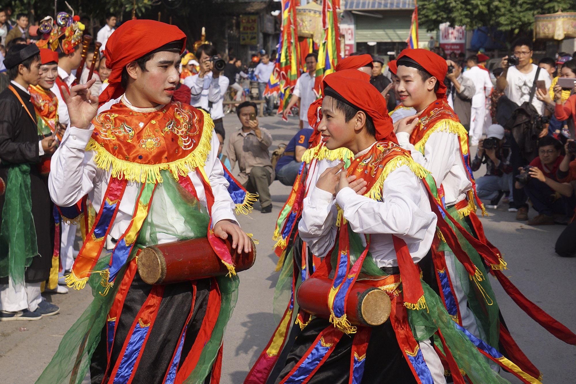 Hà Nội: Người gìn giữ điệu múa cổ nghìn năm con đĩ đánh bồng - 10