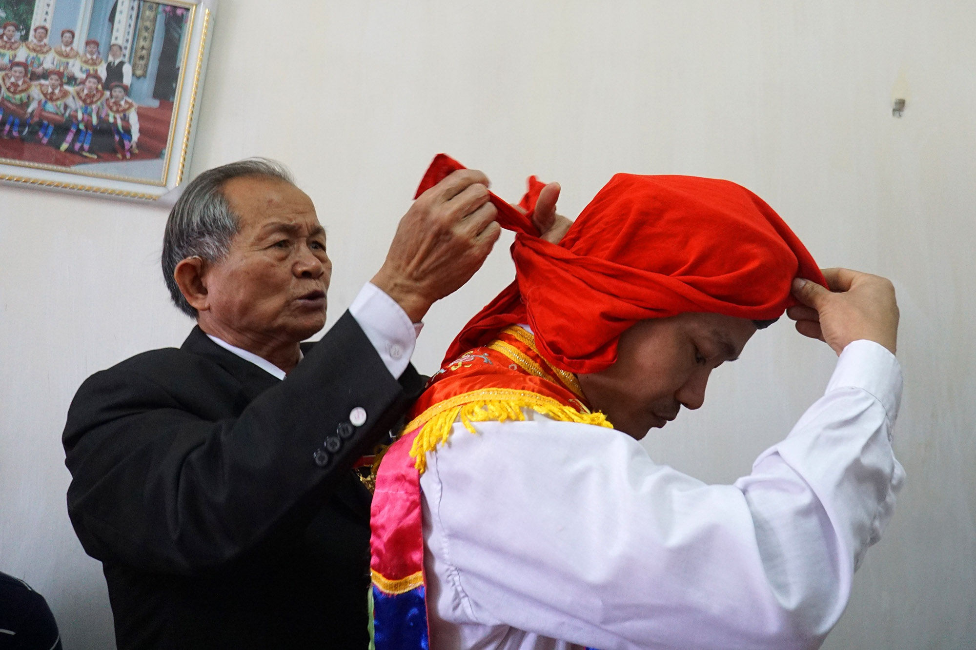 Hà Nội: Người gìn giữ điệu múa cổ nghìn năm con đĩ đánh bồng - 9
