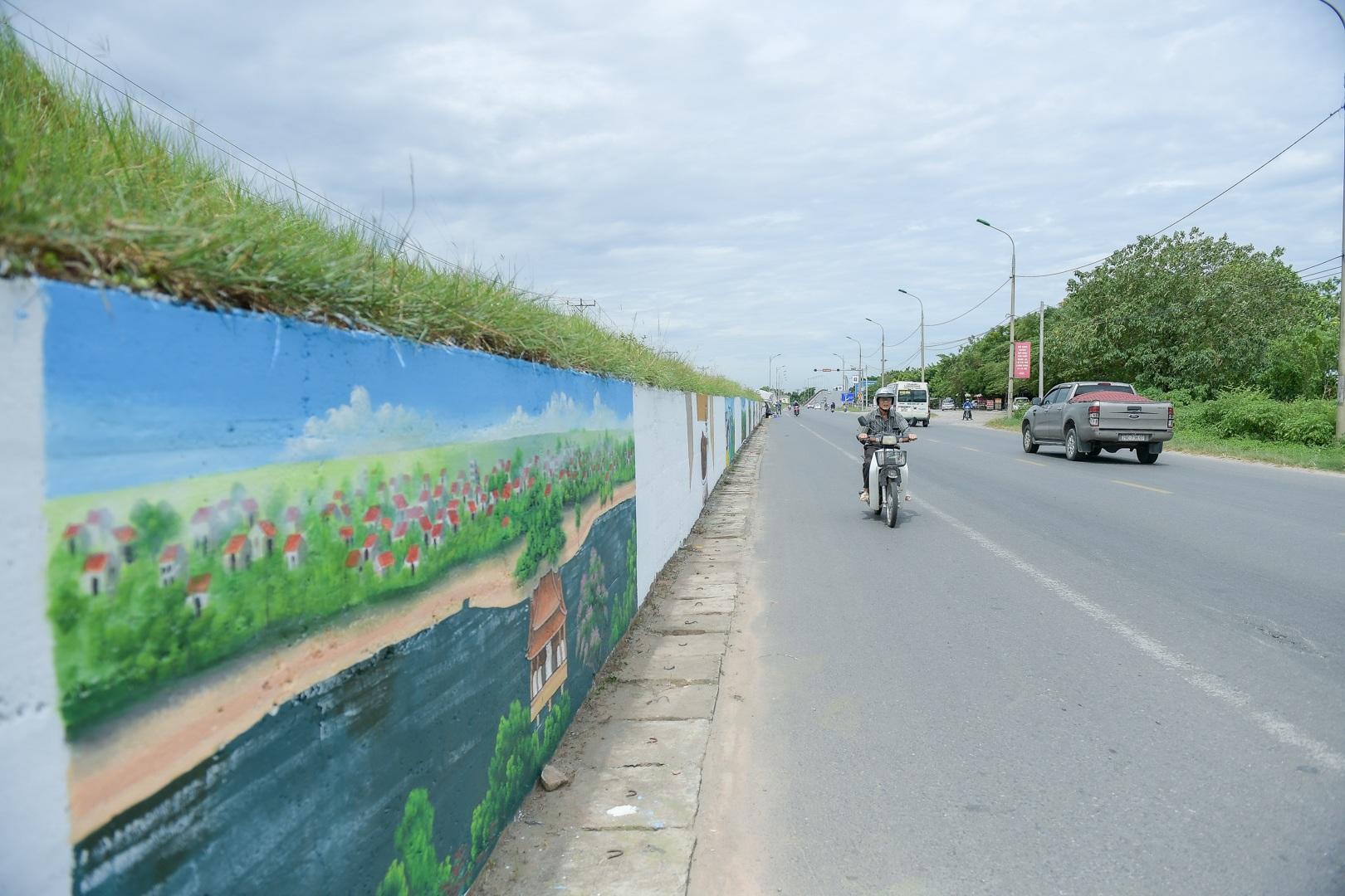 Con đường bích họa dài hơn 2 km ở ngoại thành Hà Nội - 17