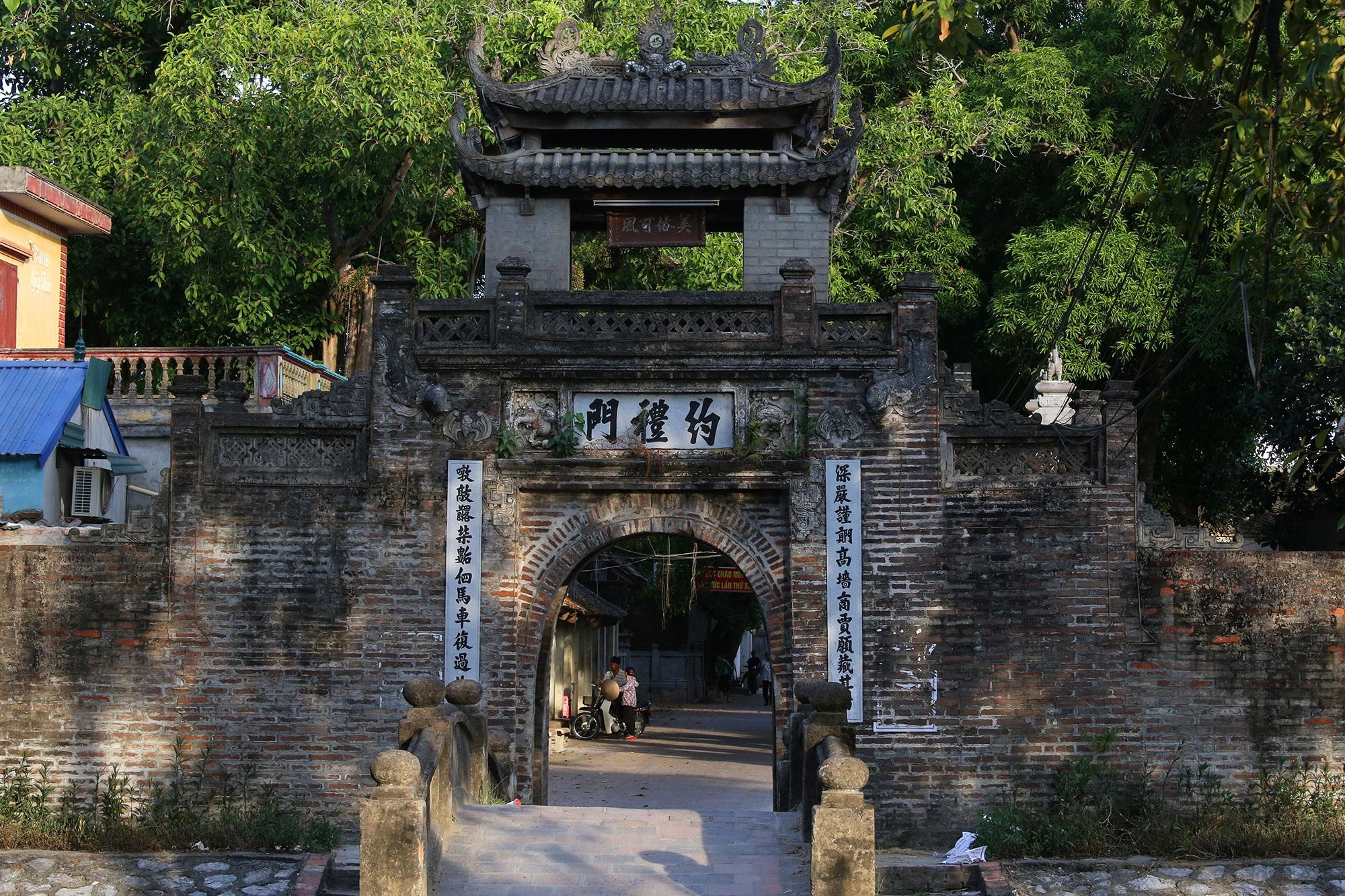 Khám phá vẻ đẹp của cổng làng đồ sộ trải qua 5 thế kỷ tại ngoại ô Hà Nội - 2