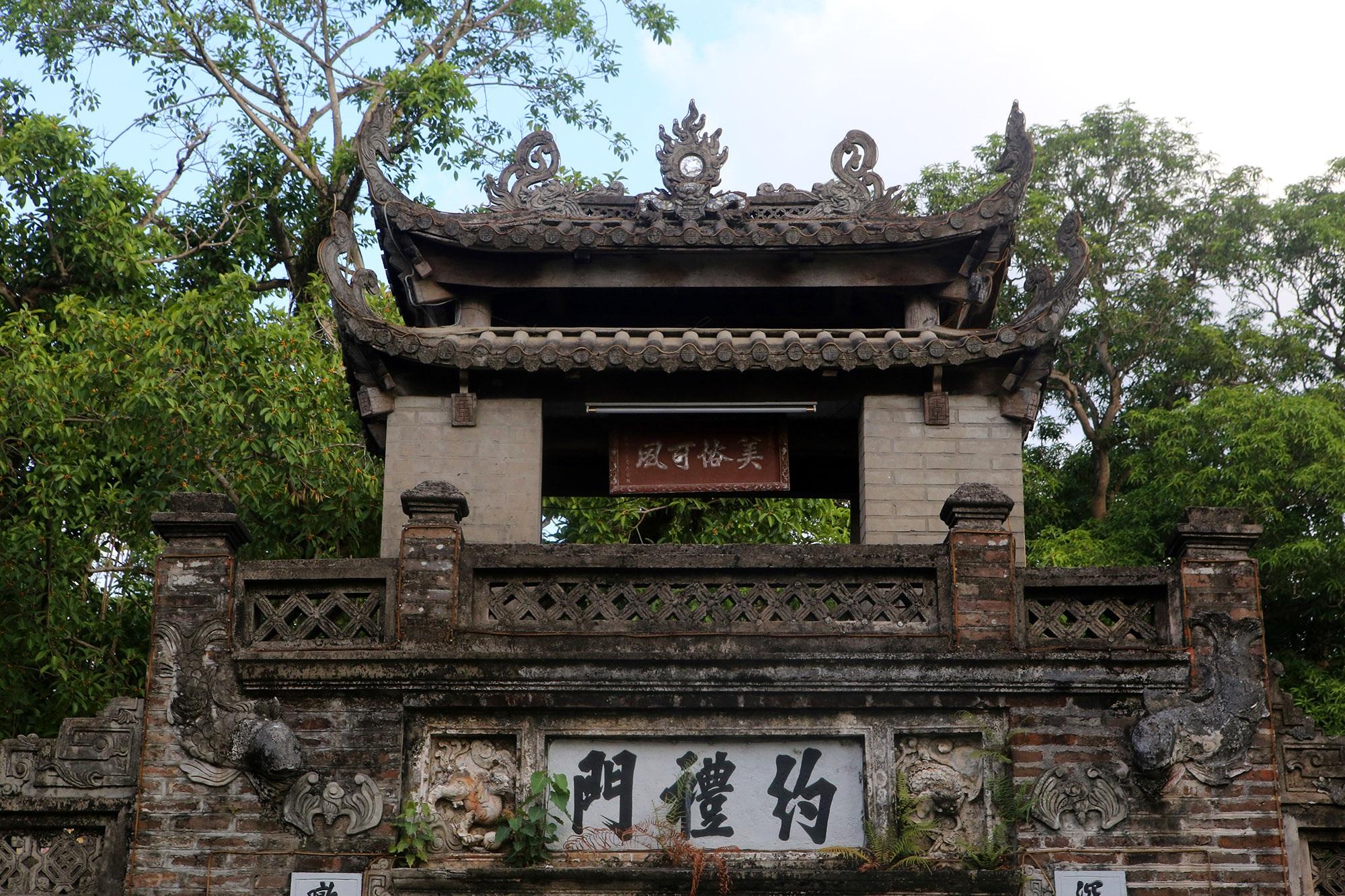 Khám phá vẻ đẹp của cổng làng đồ sộ trải qua 5 thế kỷ tại ngoại ô Hà Nội - 5