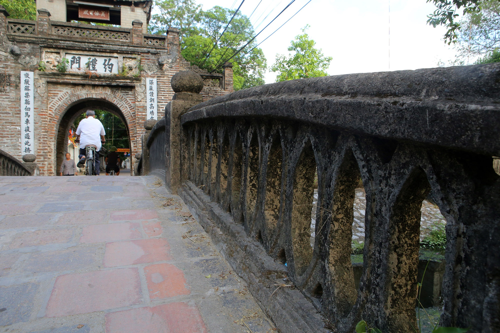 Khám phá vẻ đẹp của cổng làng đồ sộ trải qua 5 thế kỷ tại ngoại ô Hà Nội - 9