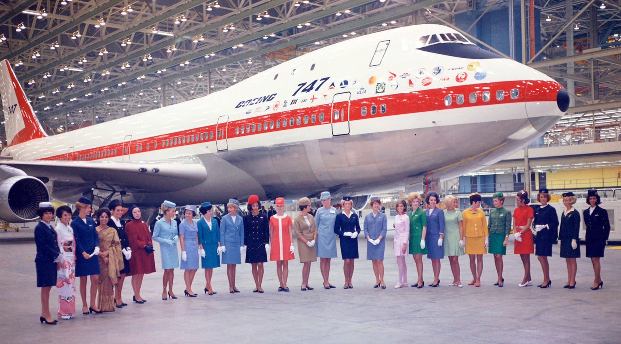50 năm tung cánh của Nữ hoàng bầu trời- Boeing 747 - 5
