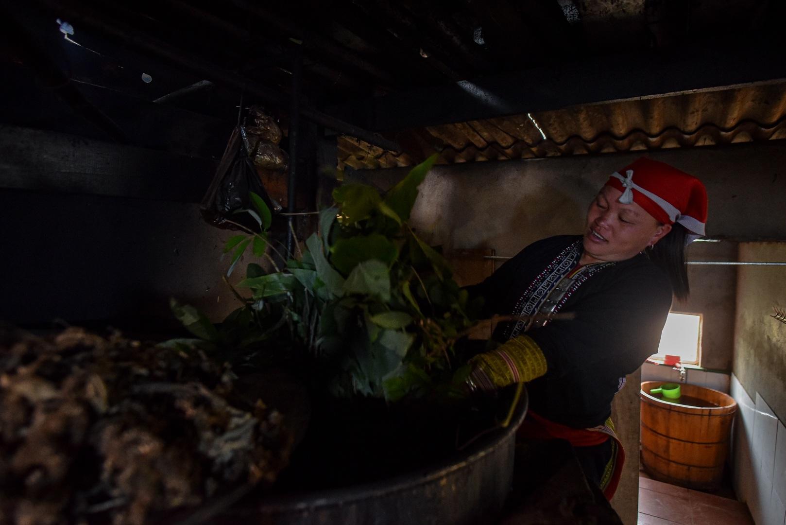 Băng rừng theo người Dao đỏ Sapa đi hái lá thuốc tắm thần dược - 24