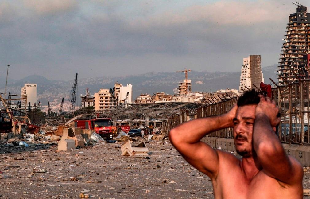 """Cảnh đổ nát ở thủ đô Li Băng sau vụ nổ """"như thảm họa Hiroshima"""" - 9"""