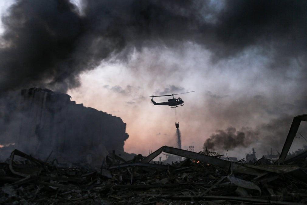 """Cảnh đổ nát ở thủ đô Li Băng sau vụ nổ """"như thảm họa Hiroshima"""" - 2"""