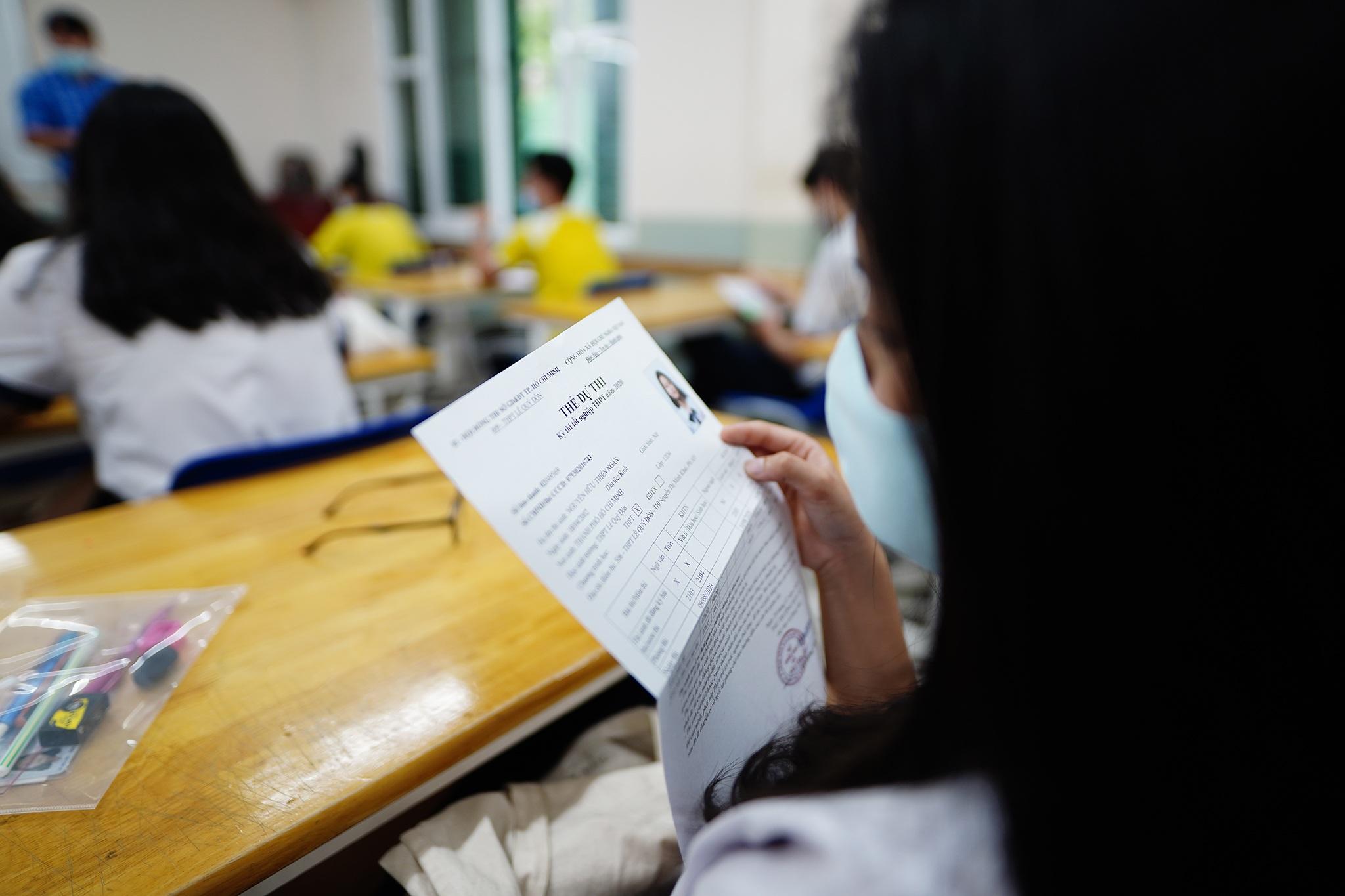 Thí sinh TPHCM tự tin bước vào kỳ thi tốt nghiệp THPT 2020 - 7