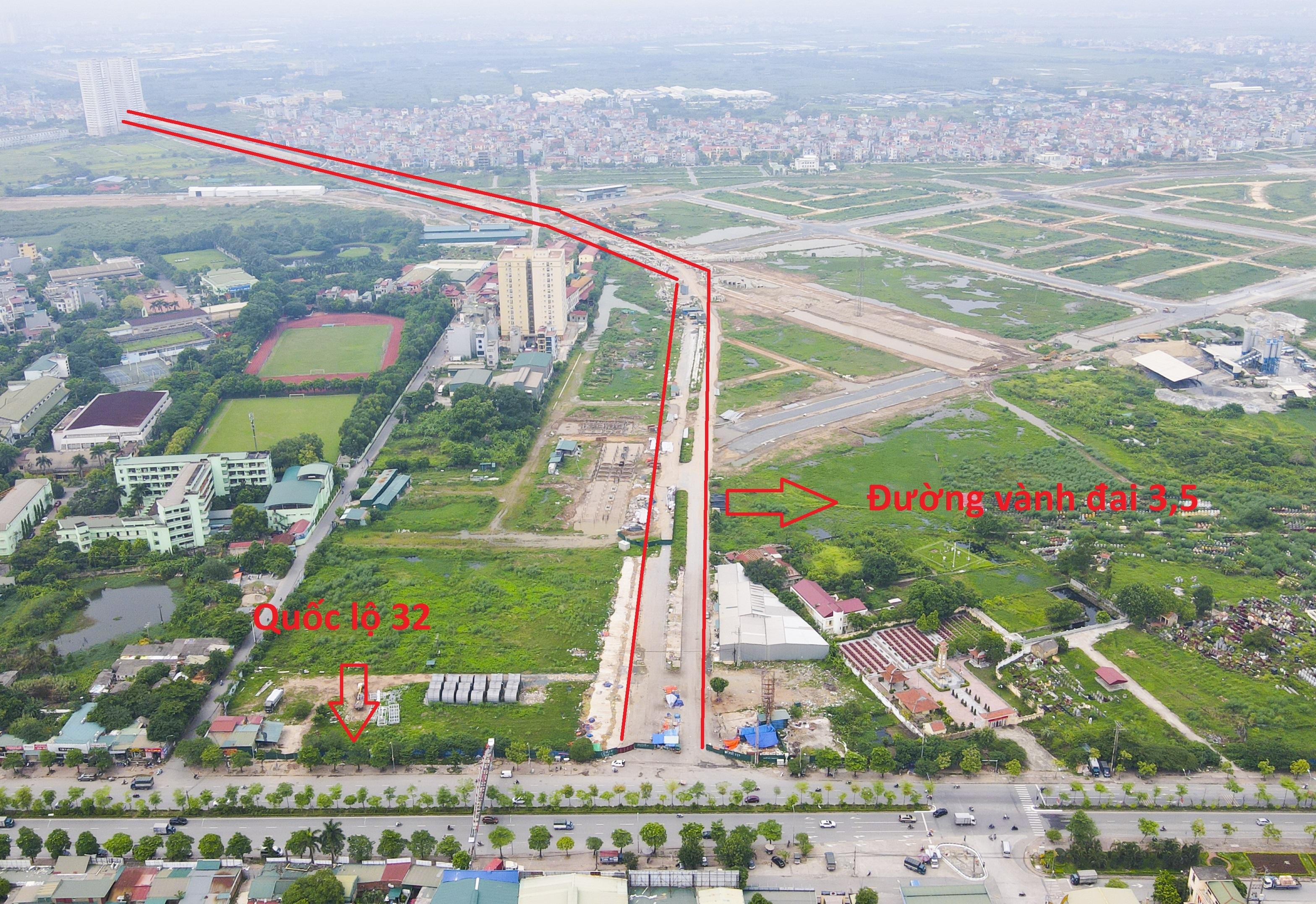 Toàn cảnh đại dự án đường vành đai 3,5 qua 4 xã ngoại thành Hà Nội - 10