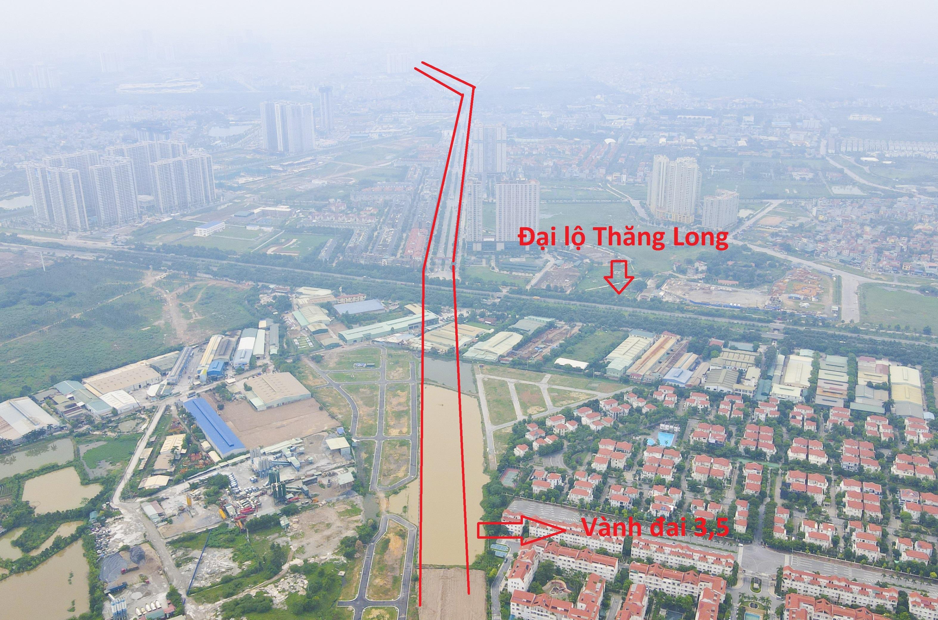 Toàn cảnh đại dự án đường vành đai 3,5 qua 4 xã ngoại thành Hà Nội - 1