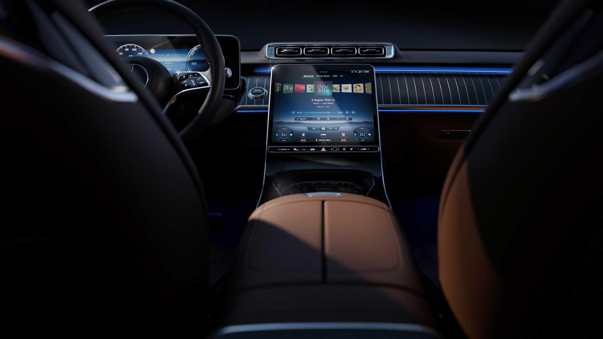 Soi chi tiết nội thất Mercedes S-Class thế hệ mới - 12