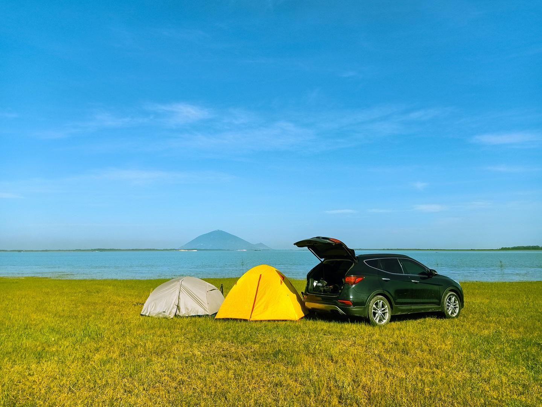 Đẹp đến nao lòng hồ nước nhân tạo lớn nhất Việt Nam - 2