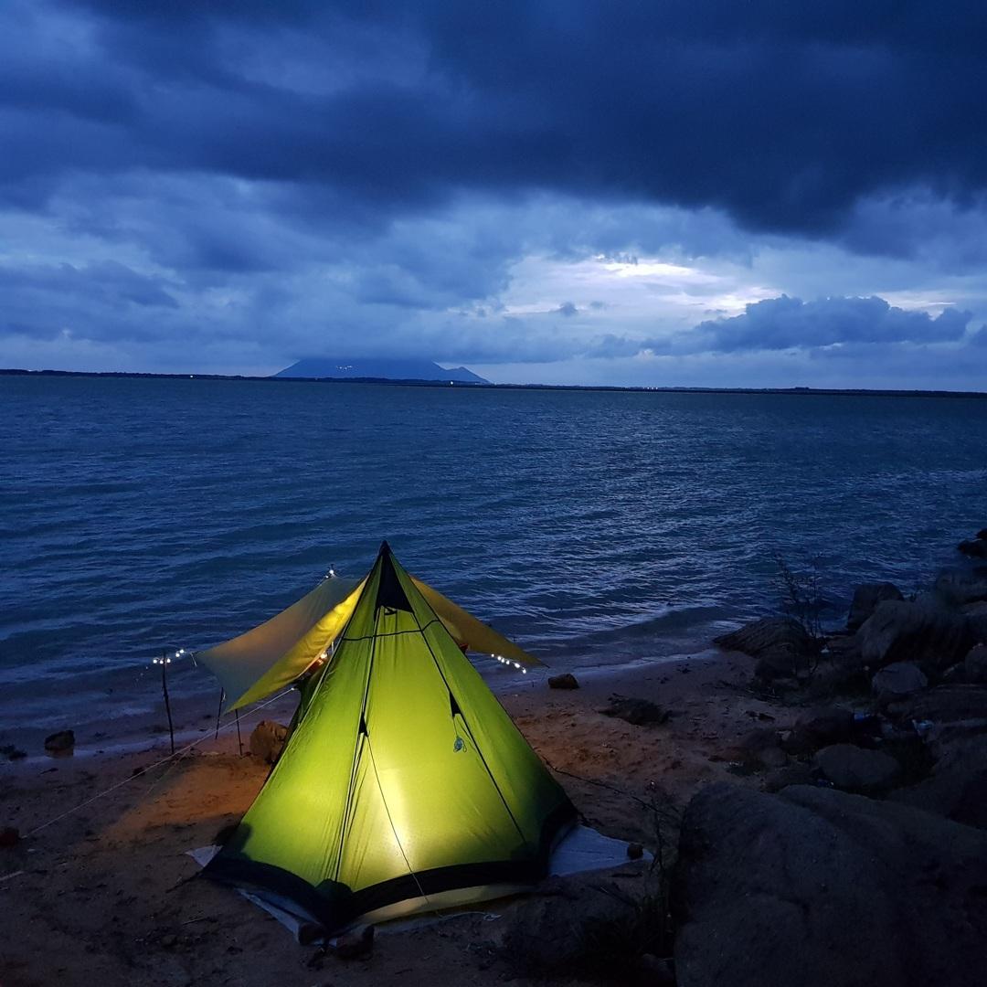 Đẹp đến nao lòng hồ nước nhân tạo lớn nhất Việt Nam - 16