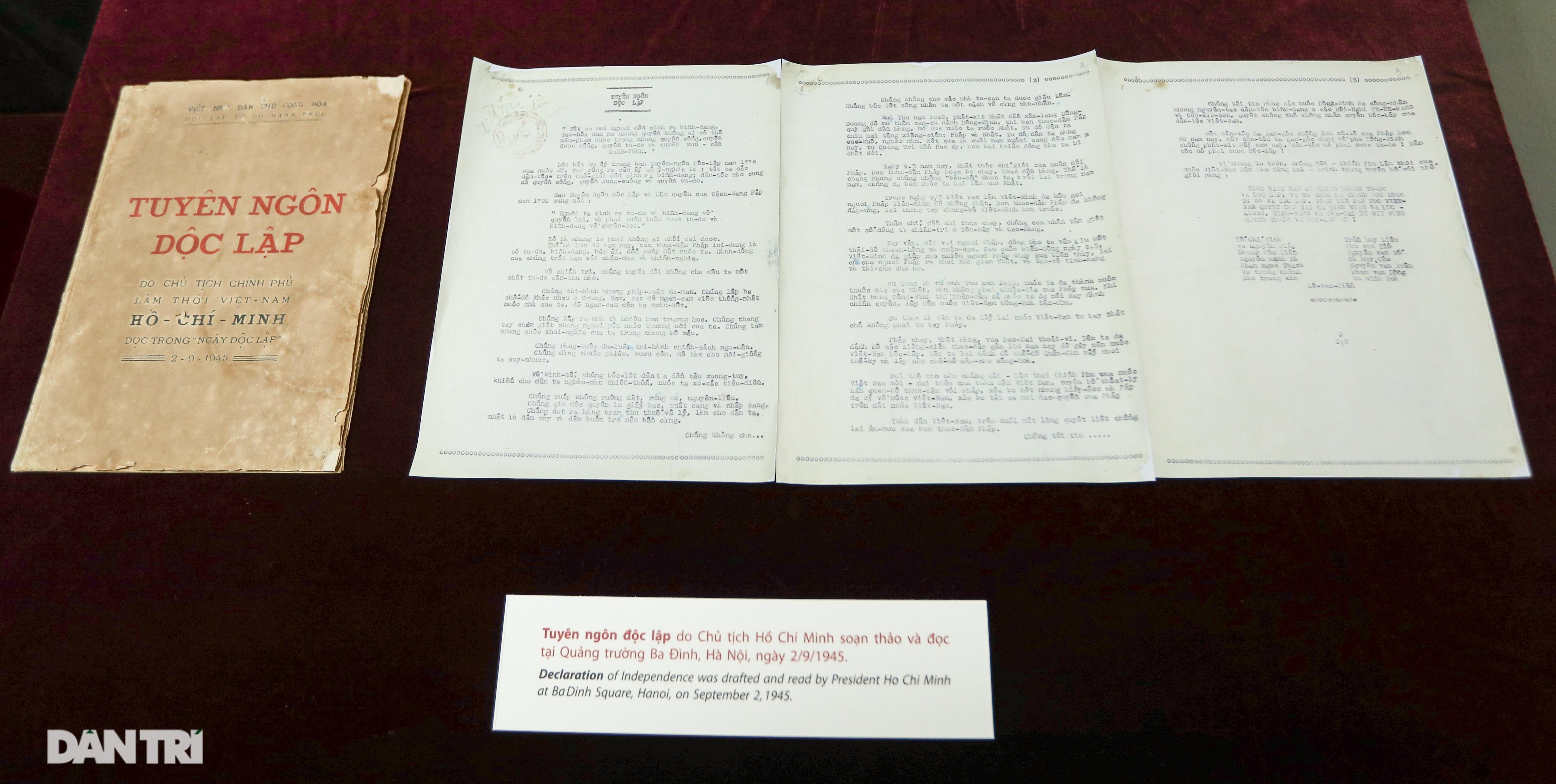 Kỷ vật ghi lời hiệu triệu hào hùng của Bác Hồ ngày Tổng khởi nghĩa - 17