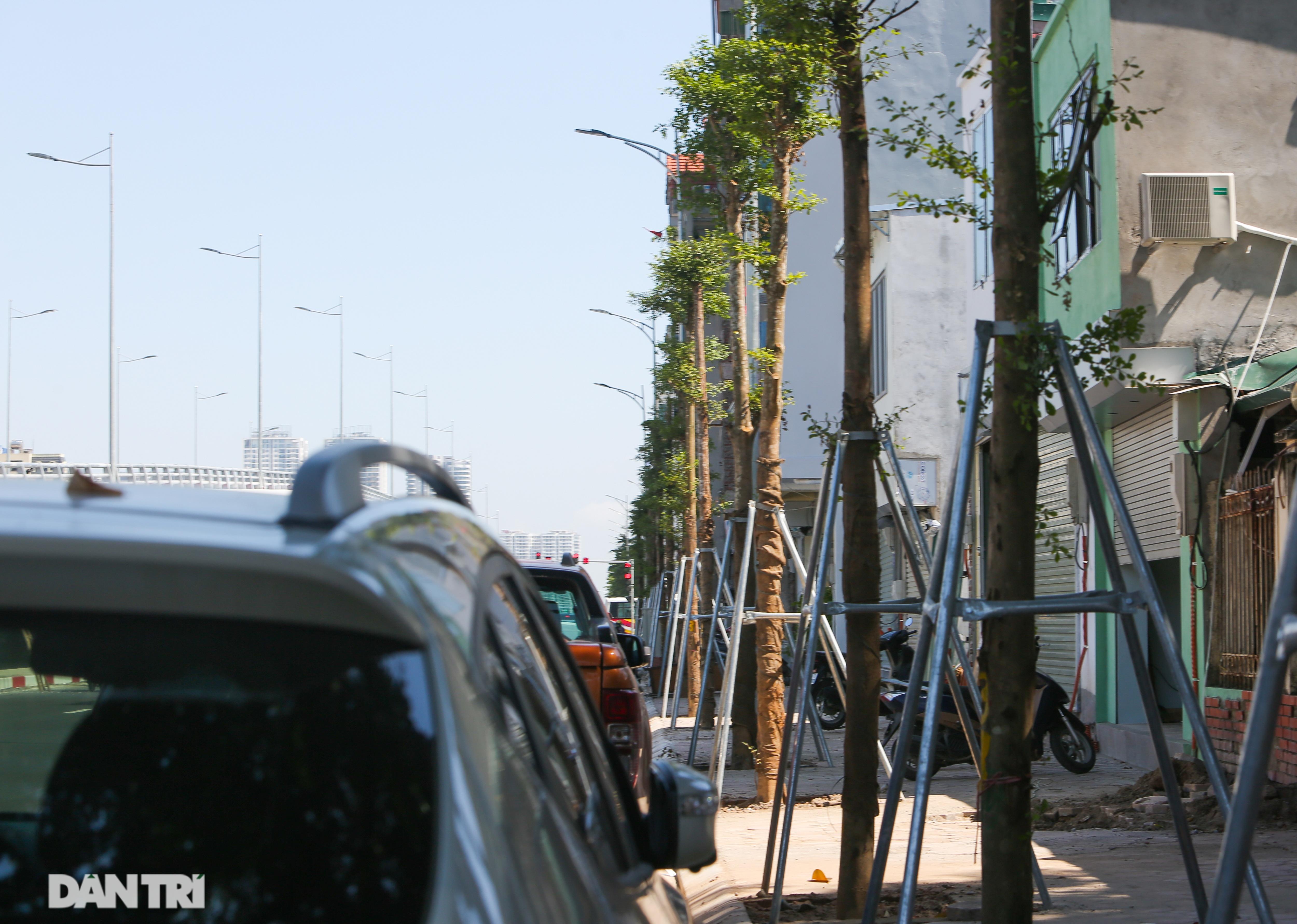 Diện mạo cây cầu vượt quy mô lớn nhất Hà Nội sẽ khánh thành vào ngày 28/8 - 15