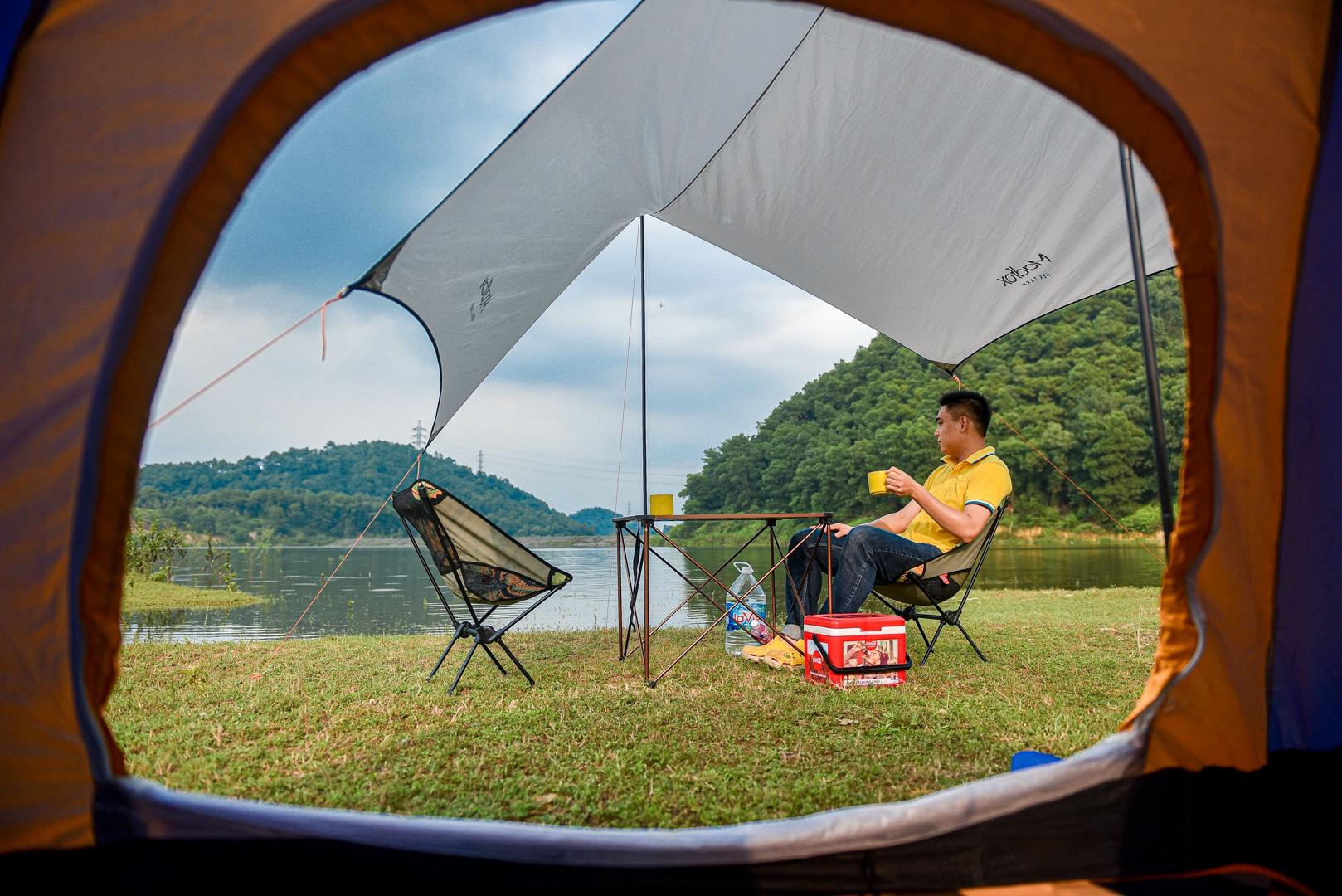 Hồ Chòm Núi - điểm trốn dịch lý tưởng cách nội đô Hà Nội chỉ 40km - 26