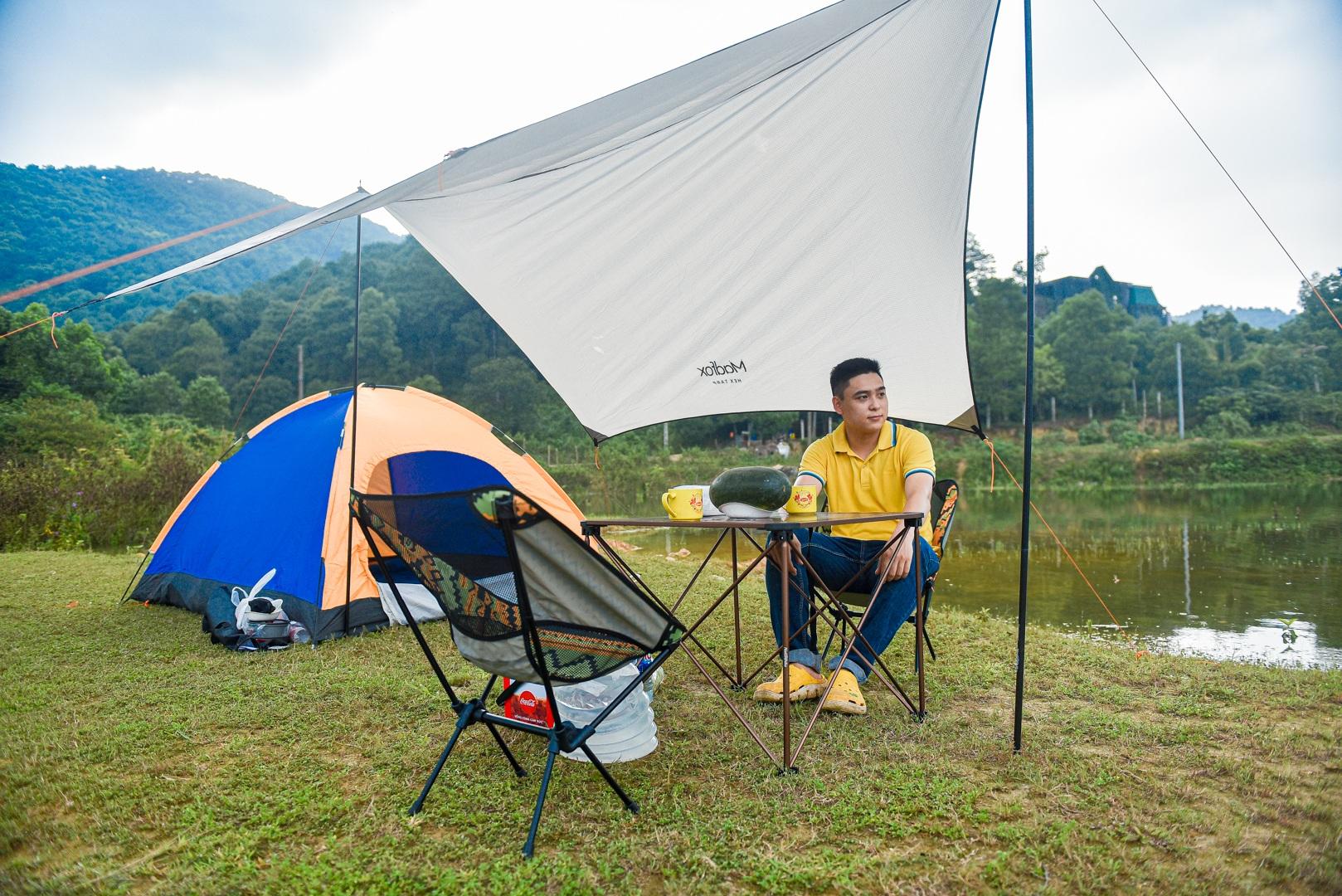 Hồ Chòm Núi - điểm trốn dịch lý tưởng cách nội đô Hà Nội chỉ 40km - 5